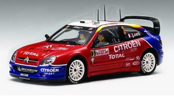 AutoArt Citroen Xsara WRC 2004 S.Loeb/D.Elena