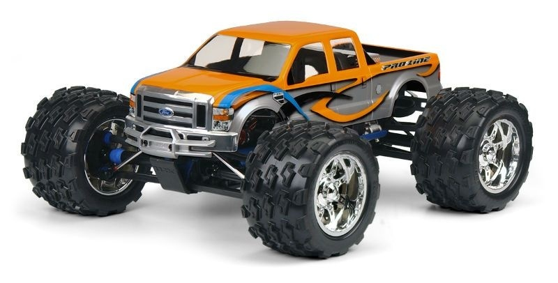 Pro Line 2008 Ford F-250 Clear Body/Karosserie
