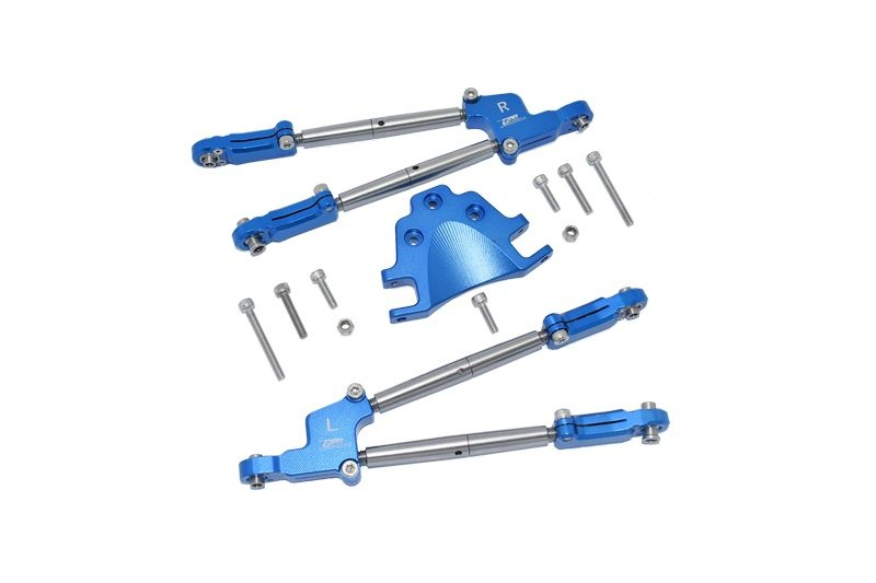 GPM Aluminum Rear Tie Rods with Stabilizer - 12PC Set for