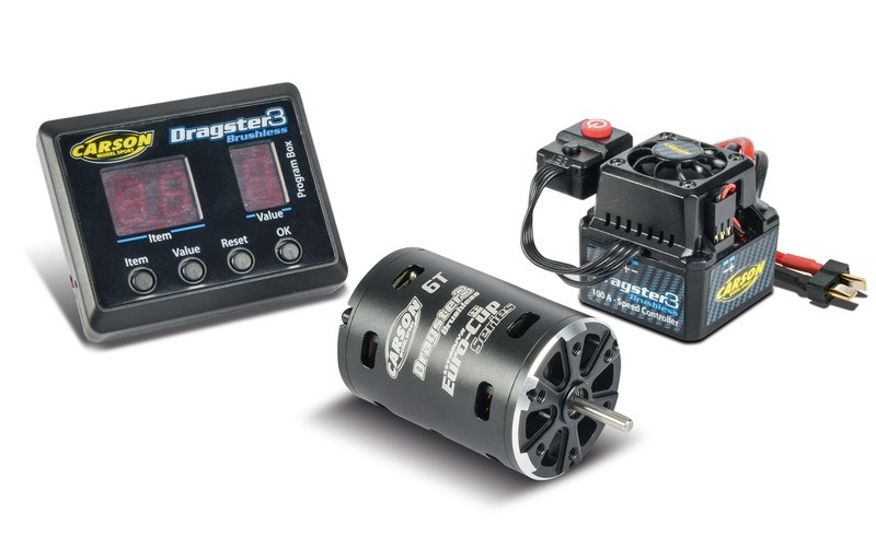 Carson Brushless-Set Dragster-3 6T