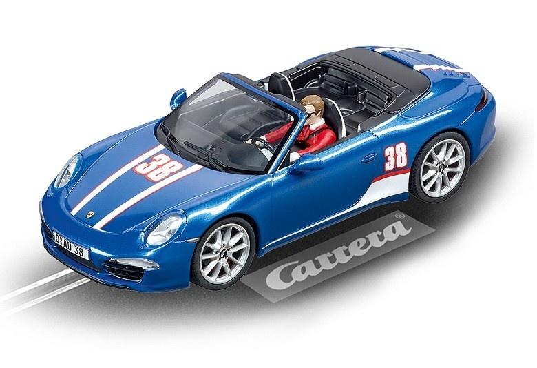 Carrera Evolution Porsche 911 Carrera S Cabriolet No.38