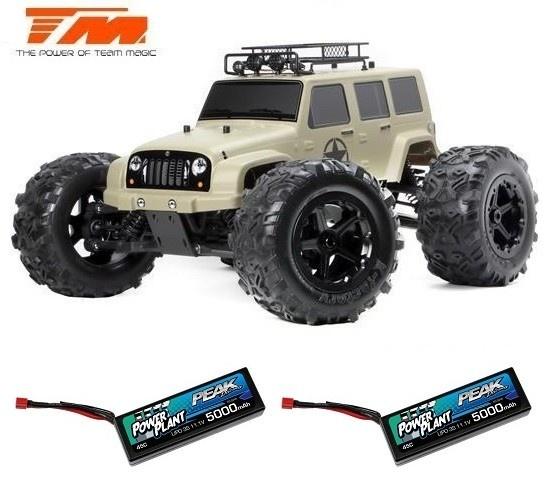 Team Magic E6 J-Star Desert 4WD Monster Truck BL 2.4GHz