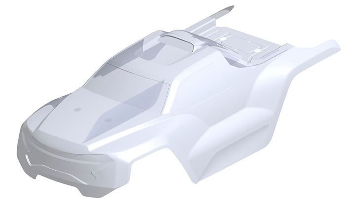 Team Corally - Polycarbonate Body - Jambo XP 6S - Clear