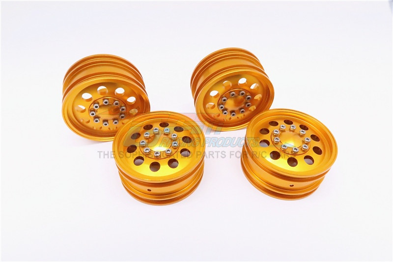 GPM ALLOY front & rear wheels 1:10 (10 holes) 2PRS SET