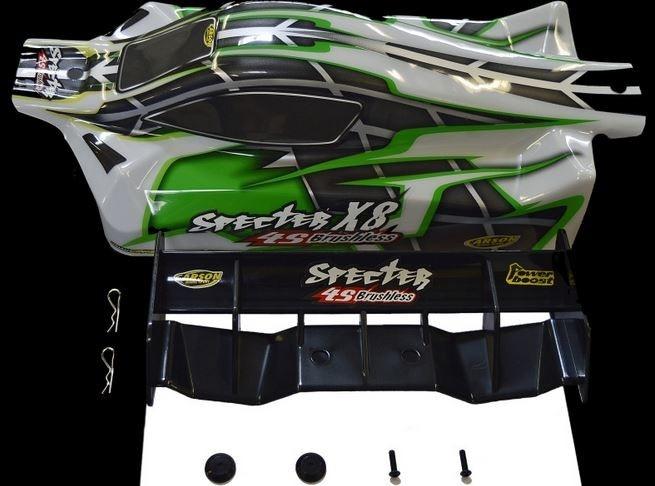 Carson X8EB Specter BL 4S / 6S Karosserie 6S 1:8