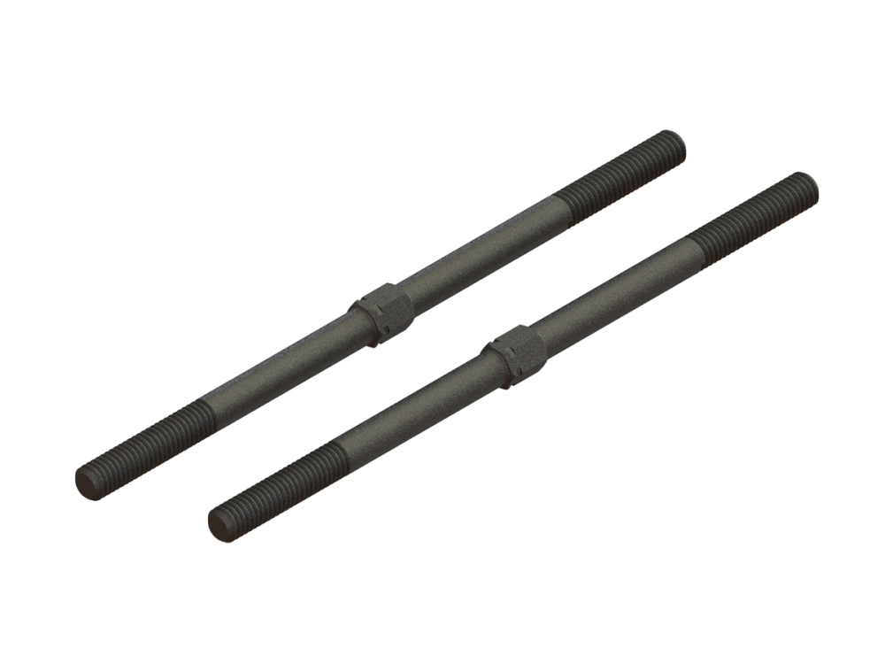 Arrma Steel Turnbuckle M6x130mm (Black) (2) (ARA340156)