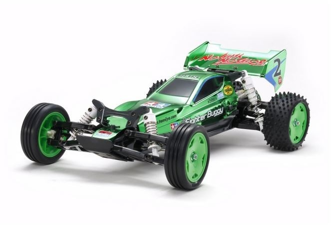 Tamiya RC NeoFighter 2WD Buggy Green Met.Pl. DT-03