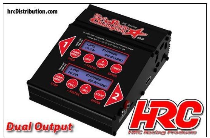 HRC Dual-Star Ladegerät 1.0 12/230V Max.2 x 100W