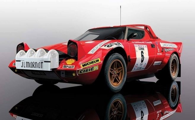 Scalextric 1:32 Lancia Stratos T.D.C 1975 Win. HD