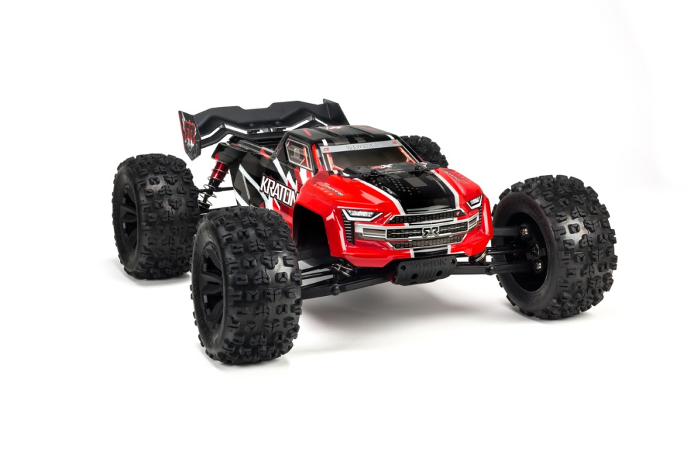 Arrma Kraton 6S BLX Painted Decaled Trimmed Body (Red)