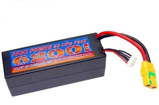 Auslauf - HRC Akku - LiPo 4S - 14.8V 6200mAh 65C/110C