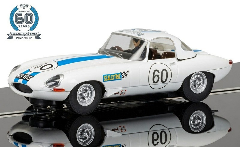 Scalextric 60 J. Collection Car No.6 - 1960s Jaguar E-Type