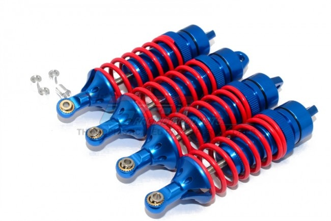 GPM alloy front/rear adjustable spring dampers (85mm) with