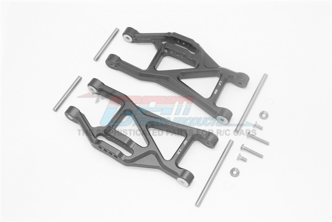 GPM ALUMINIUM FRONT / REAR LOWER ARMS -14PC SET