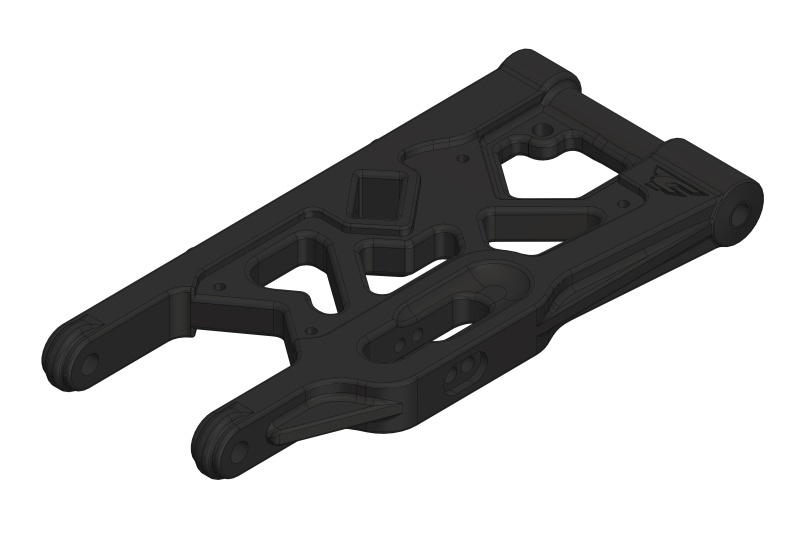 Team Corally Suspension Arm - Lower - Rear - Composite - 1pc