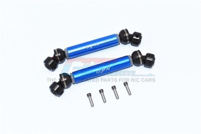 GPM steel + aluminium front+rear cvd drive shaft - 6PC SET