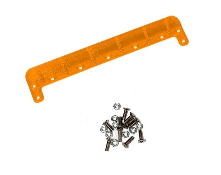 JS-Parts ultraflex Heckkante universal 140mm orange