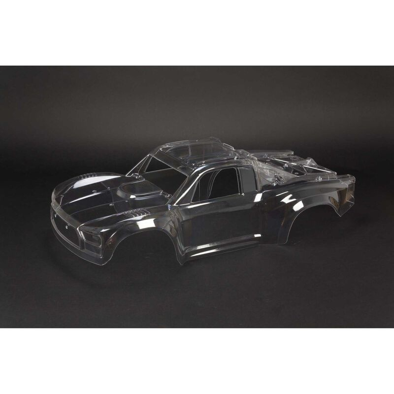 Arrma Clear Body Shell with Decals: MOJAVE 6S BLX