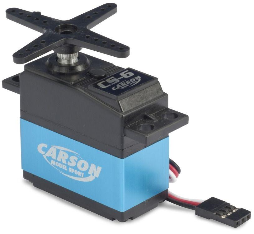 Auslauf - Carson CS-6 Servo MG