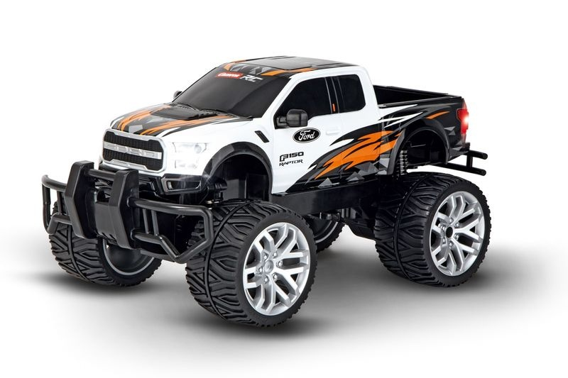 Carrera RC 2,4GHz Ford F-150 Raptor, weiß RTR 1:14