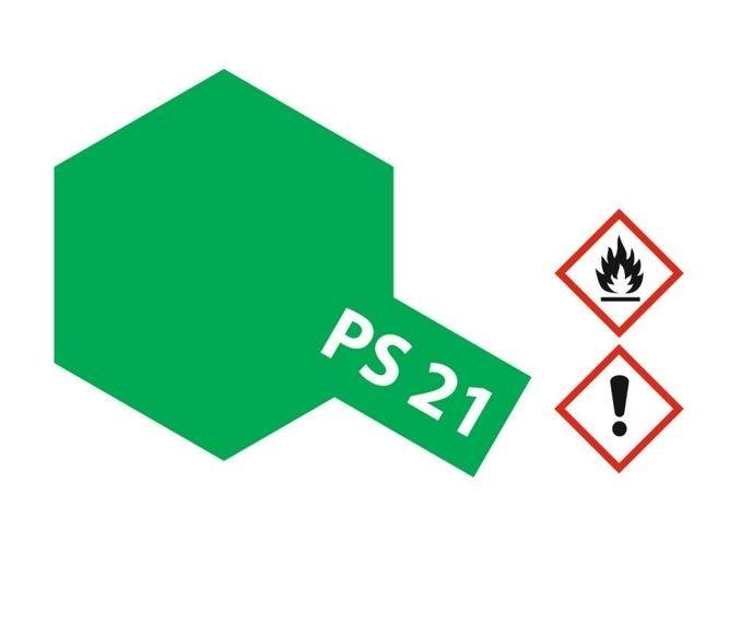 Tamiya Lexanlack PS 21 park-grün