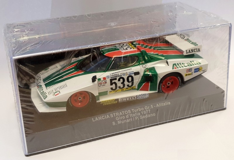 Sideways Lancia Stratos Turbo Gr.5 -