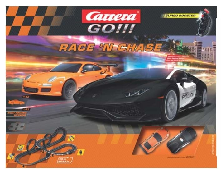 Auslauf - Carrera Go!!!-Race n Chase