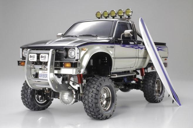 Tamiya RC Toyota HiLux HighLift 4x4 3-Gang Bausatz 1:10