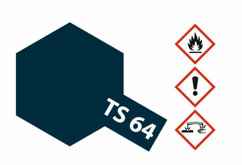 Tamiya Acryl-Sprühfarbe TS-64 MicaBlau dkl. (Glimmer)