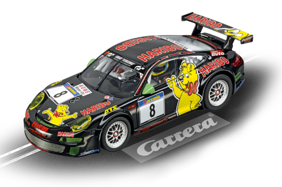 Carrera Digital 132 Porsche GT3 RSR Haribo Racing