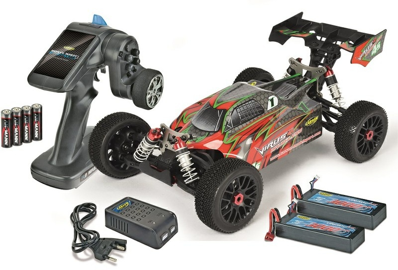 carson virus 4 1 4s brushless 4wd buggy 2 4ghz rtr 1 8 ebay. Black Bedroom Furniture Sets. Home Design Ideas