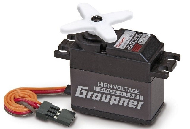 Graupner Servo HBS 880 BB, MG 20mm --LOSE--
