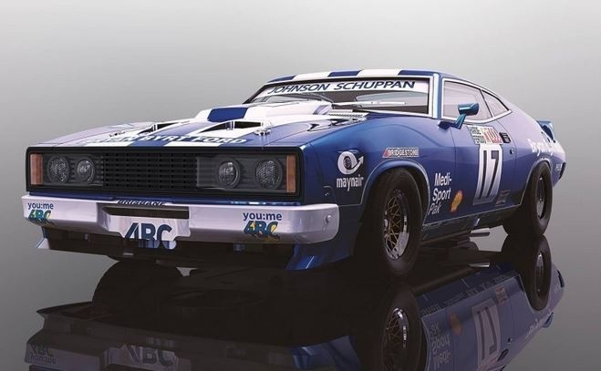 Scalextric 1:32 Ford XC Falcon Bathurst 1978 #17 HD