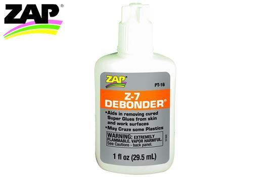 Zap Klebstoffentferner -  Z-7 Debonder - 29.5ml