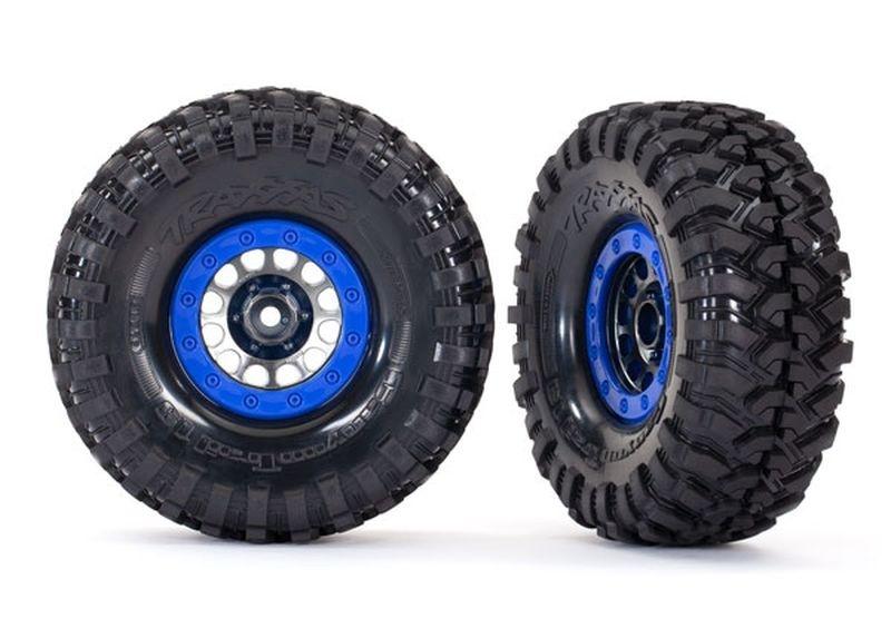 Traxxas Reifen auf Felge Method 105 1.9 schwarz/chrome