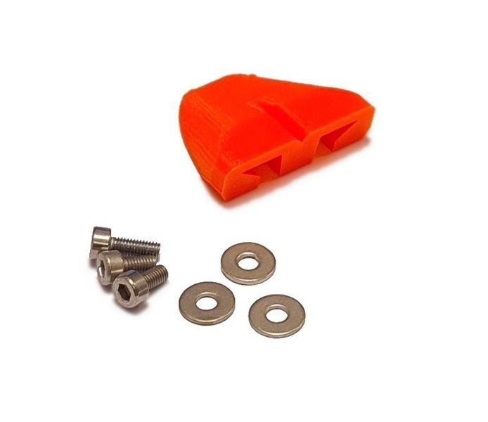JS-Parts Lufthutze für Arrma Kraton V4 orange
