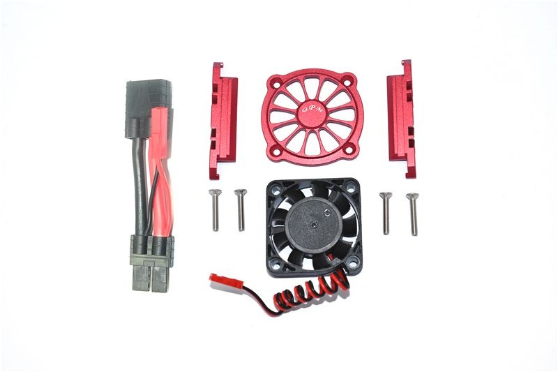 GPM Aluminum Motor Heatsink with Cooling Fan - 9PC Set