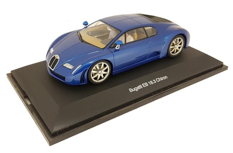 AutoArt 1:24 Bugatti EB 18.3 Chiron blue