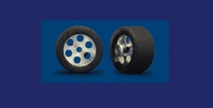 NSR RE RTR 19x12mm Trued Rubber on 16 Wheels (2)