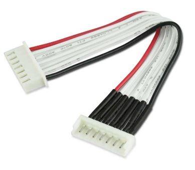 Balancer-Adapter EH Stecker <=>XH Buchse 6S 30cm