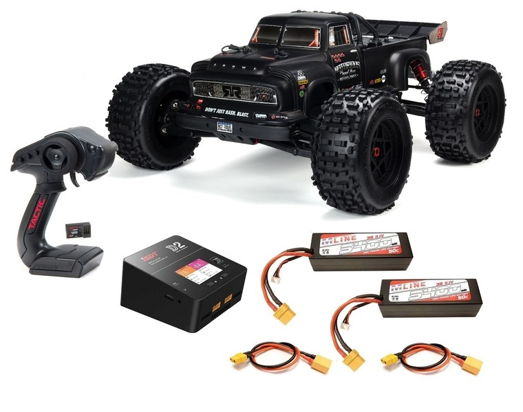 Arrma RC Notorious 4WD Classic Stunt Truck Brushless 2.4GHz