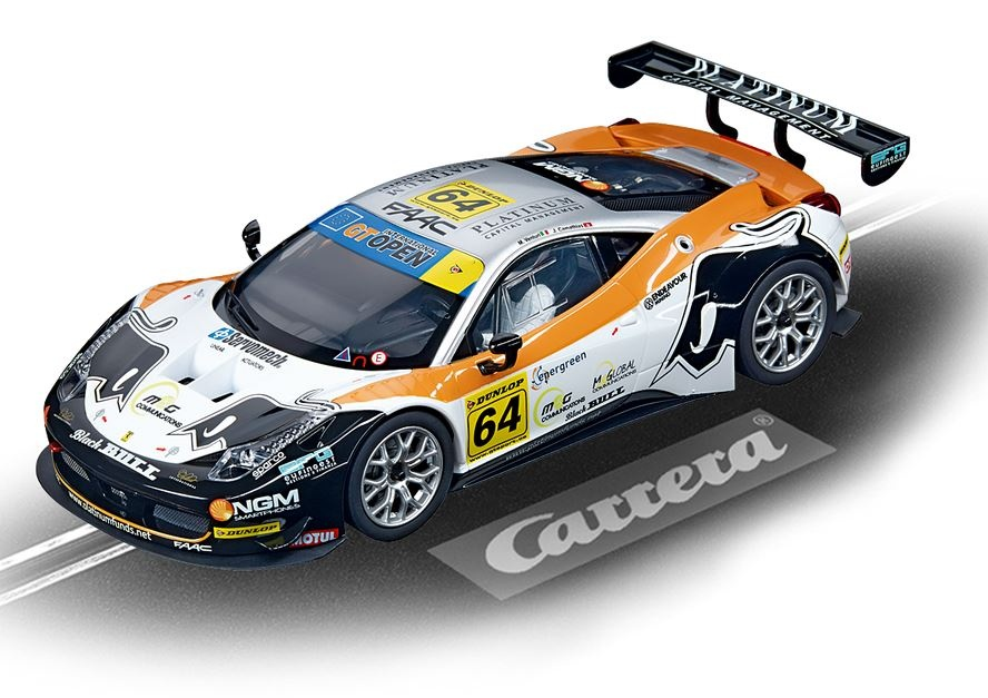 Carrera Digital 124 Ferrari 458 Italia GT3 Black Bull Racing