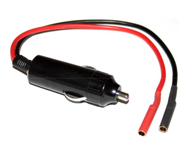 HRC Zigaretten-Adapter 12V zu 4mm Gold-Stecker