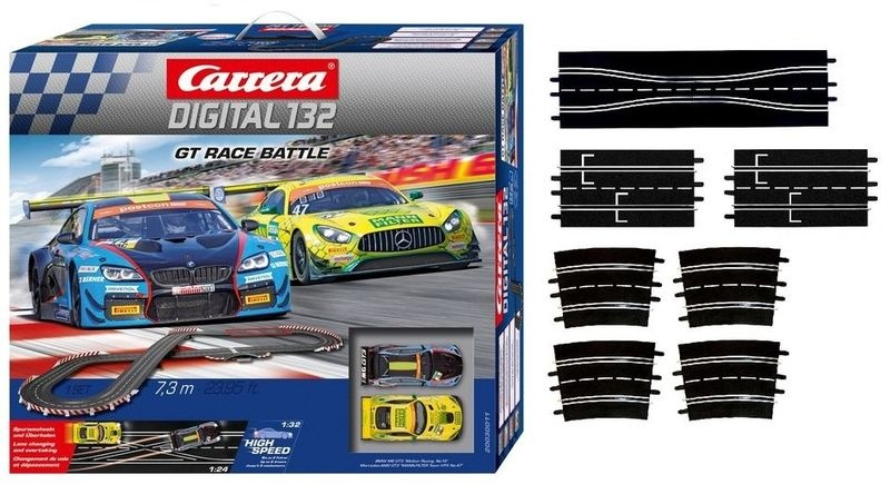 Carrera Digital 132 GT Race Battle --SPARSET 2--