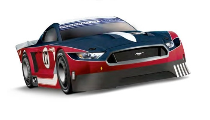 Carrera Digital 132 Ford Mustang GTY No.17