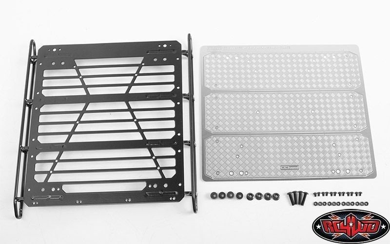 RC4WD Command Roof Rack w/ Diamond Plate