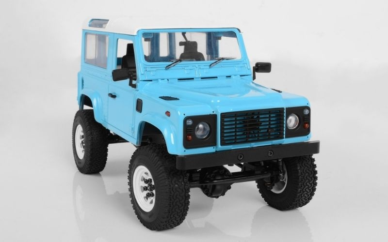 RC4WD Gelände II RTR w/D90 Body Set blue RTR 1:18