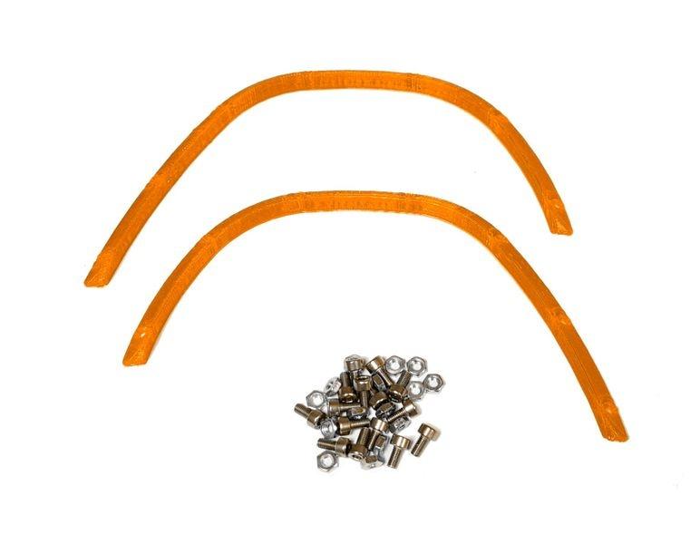 JS-Parts ultraflex Fender vorne Heavy Duty orange für