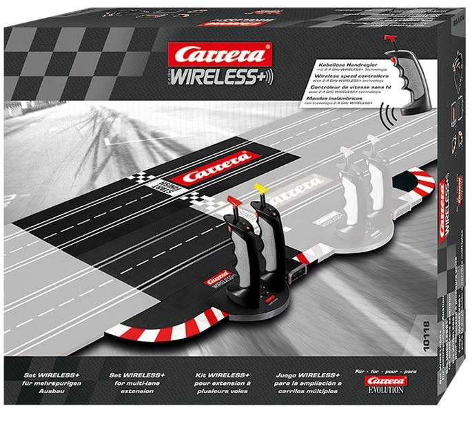 Carrera Evolution 2.4GHz WIRELESS+ Set für mehrspurigen