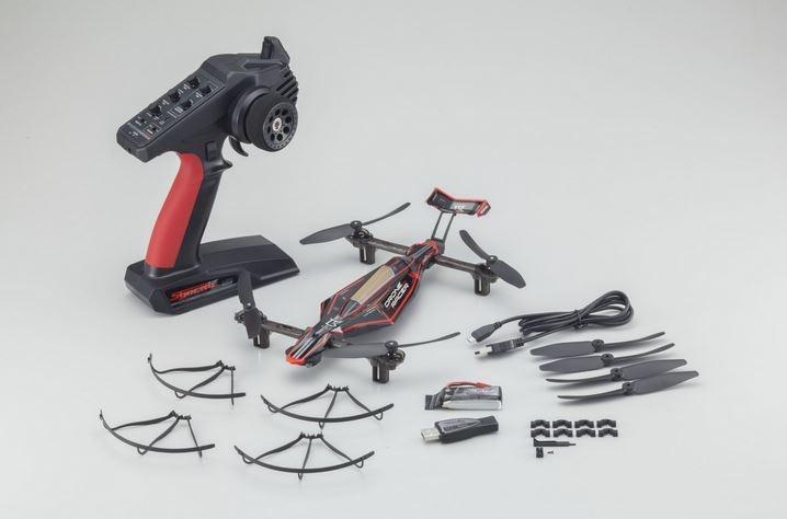 Kyosho Drone Racer Zephyr Force schwarz RTF